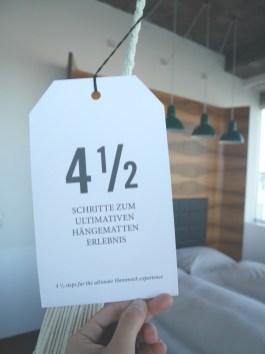 hangmat tips hotel daniel 4,5 wenen