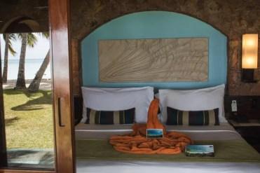hotelkamer huisje paradise sun hotel praslin