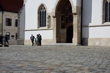 interrail kroatie kerk zagreb