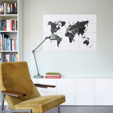 ixxi wereldkaart
