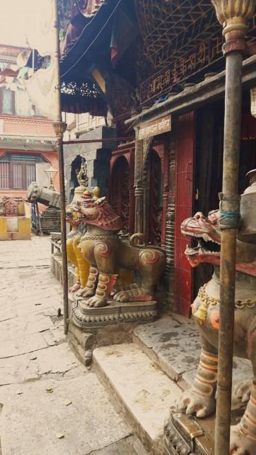 kathmandu nepal tips ingang tempel