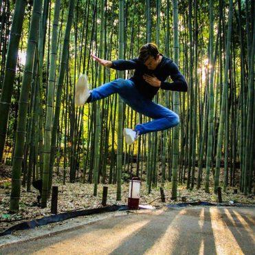 kyoto bamboo bos japan