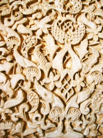 paleis details alhambra