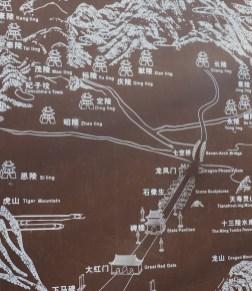 plattegrond heilige weg beijing