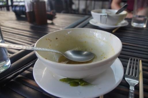 thailand kookcursus withlocals empty plate
