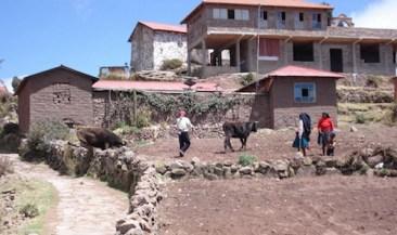 Titicaca meer peru