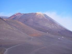 uitzicht vulkaan sicilie oostkust