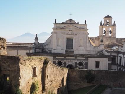 Wat te doen in Napels naar Castel Sant'Elmo