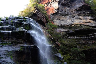 waterval bij the blue mountains sydney