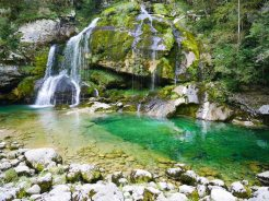 waterval slovenie bovec