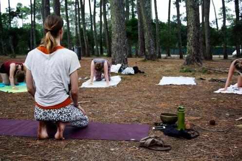 yoga surfcamp moliets frankrijk