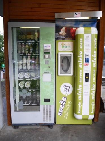 yoghurt automaat