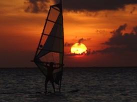 zonsondergang mexico isla mujeres