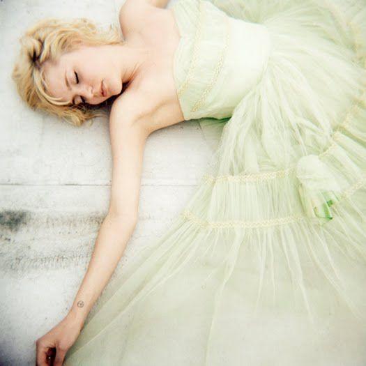 Lime green tulle dress 03
