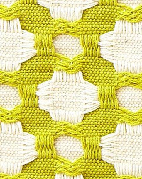 green lime weaving
