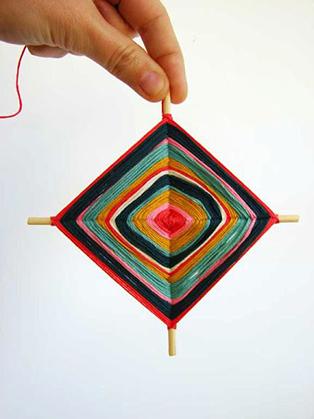 yarn god's eye