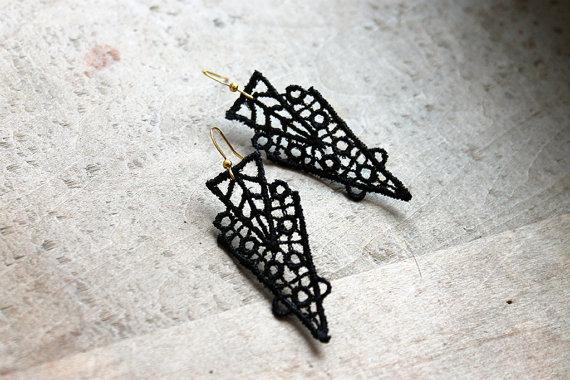 white owl lace earrings 04