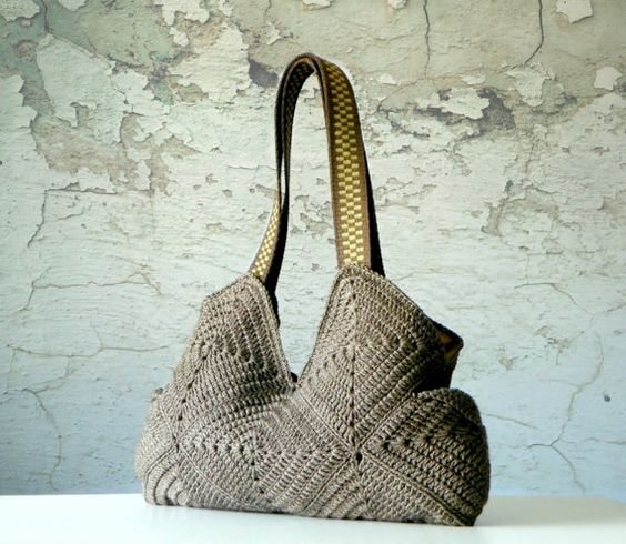 NzLbags-granny square bag
