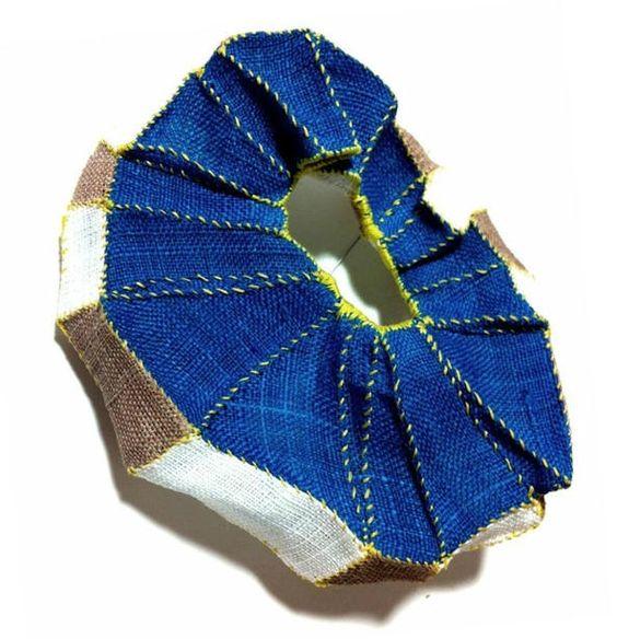 mina kang brooch blue