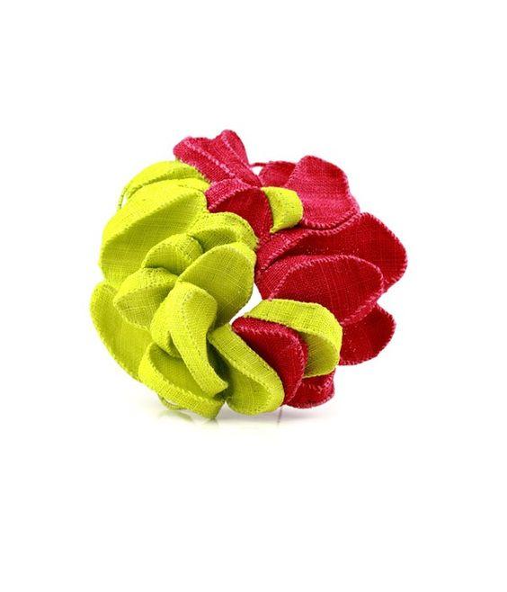 mina kang brooch vivid yellow