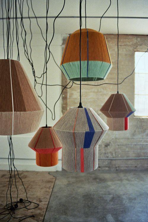 Ana Kras hanging lights