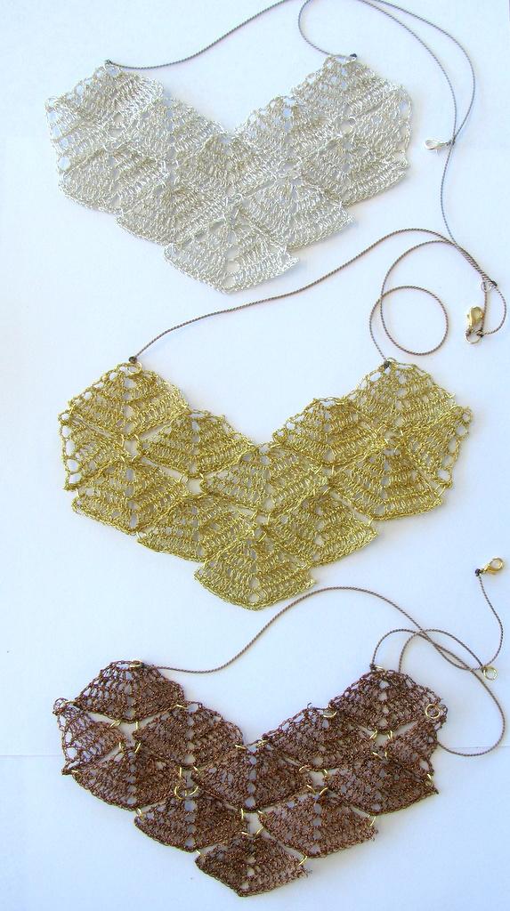 Moonbasket jewellery metallic prisme necklaces