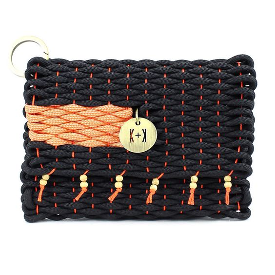Knots & Knits rope bag weaving
