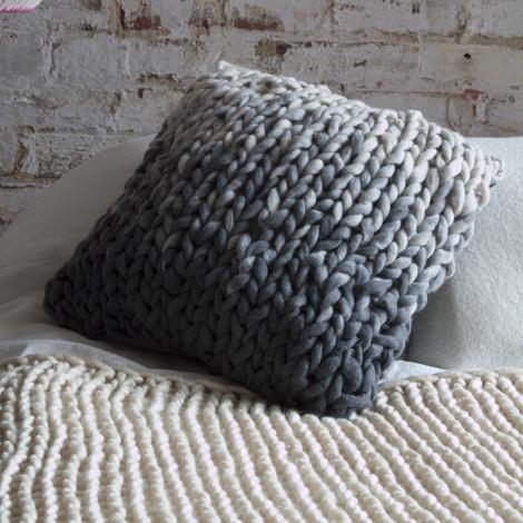 Melanie Porter cushions-Shadow-Cube_Charcoal