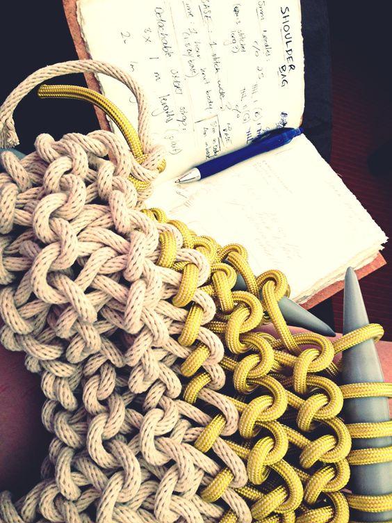 Knots & Knits work in progress