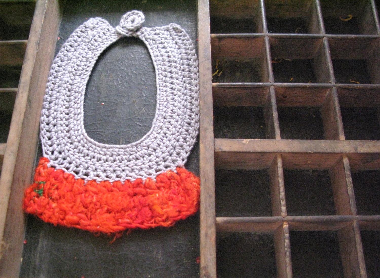 Valentine's (t)reds silk and cotton yarn necklace 02