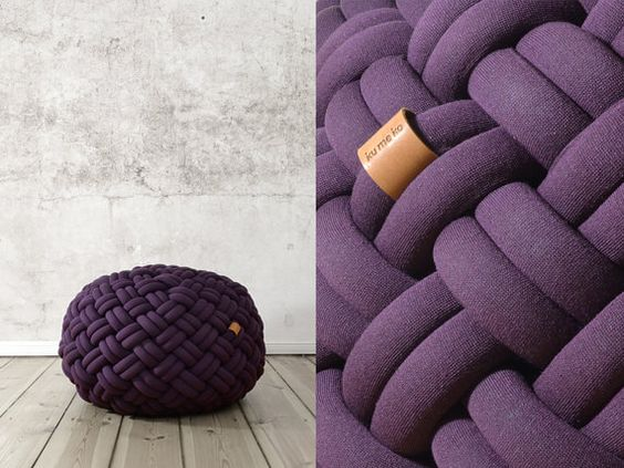 Kumeko Knotty in purple