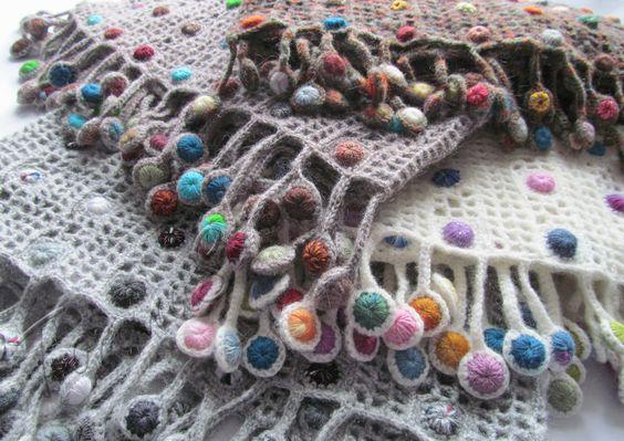 Sophie Digard scarf details