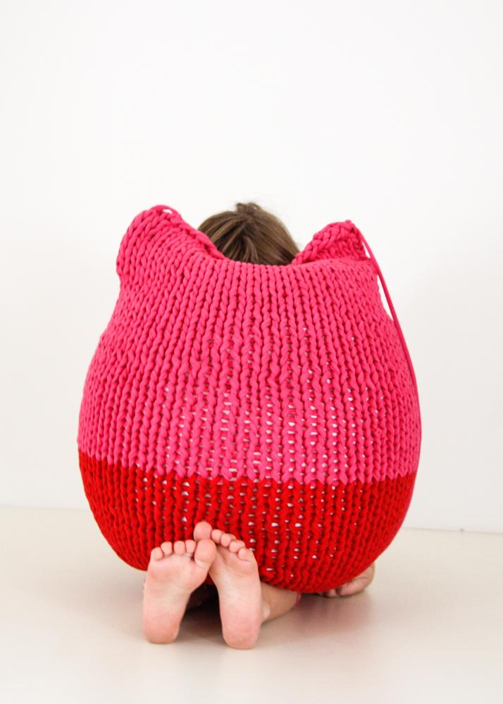Oloop Design Studio Re-seat in pink