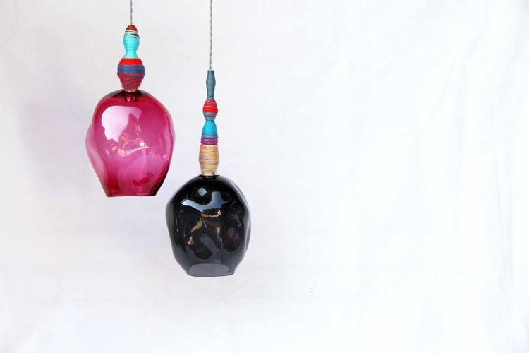 Pia Wustenberg Studio spool light