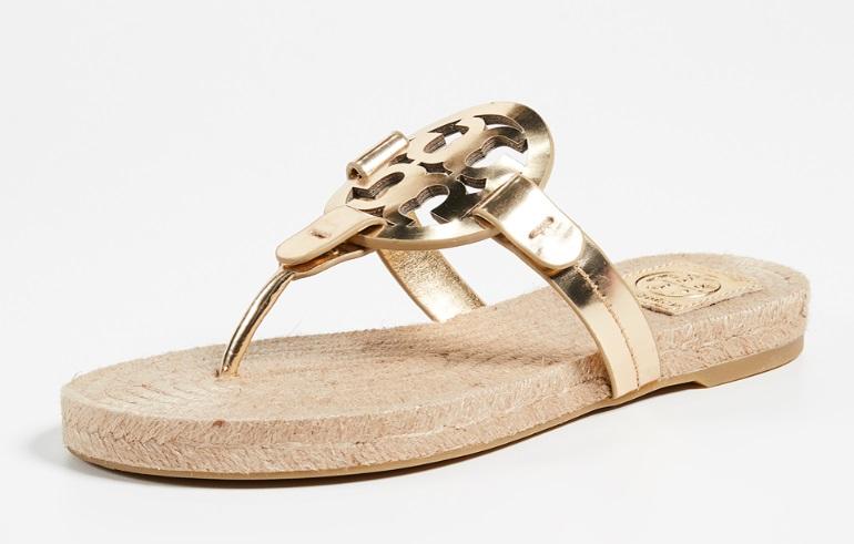 0586b6d9d Shopbop  Tory Burch Miller Espadrille Sandals – 30% off + Free Shipping!