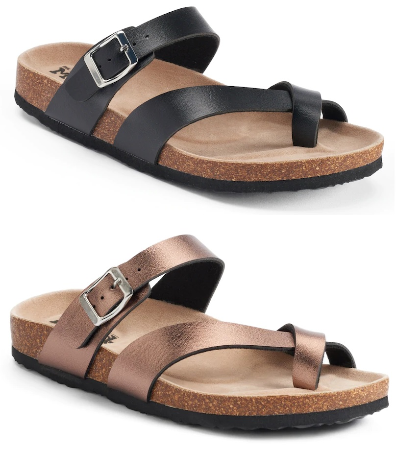 509b3d23c00 Kohl s  Mudd Toe Loop Sandals – only  8 (reg  24)! – Wear It For Less