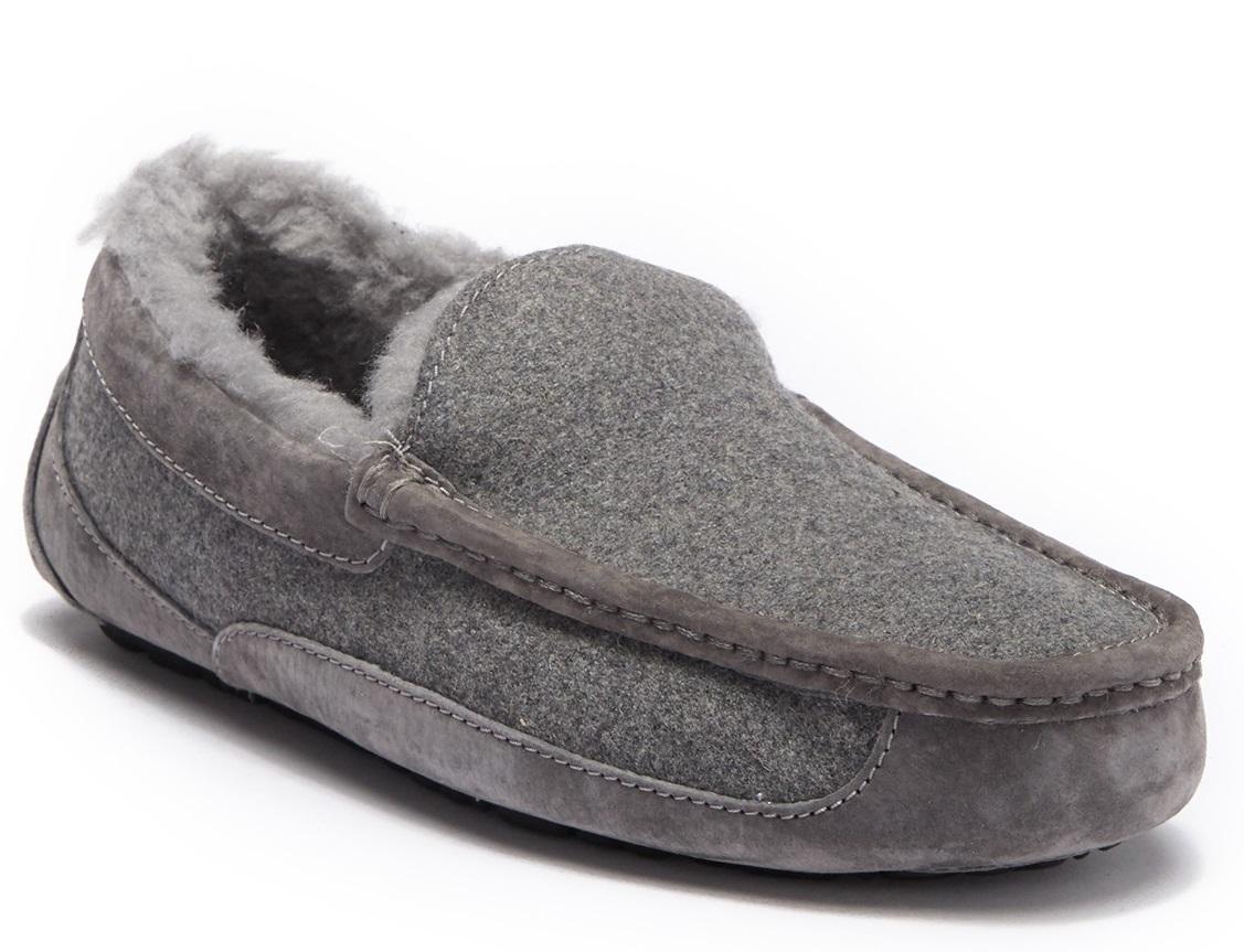 Nordstrom Rack  UGG Men s Ascot UGGpure(TM) Wool Lined Slippers – 36% Off! ef71e1ae9