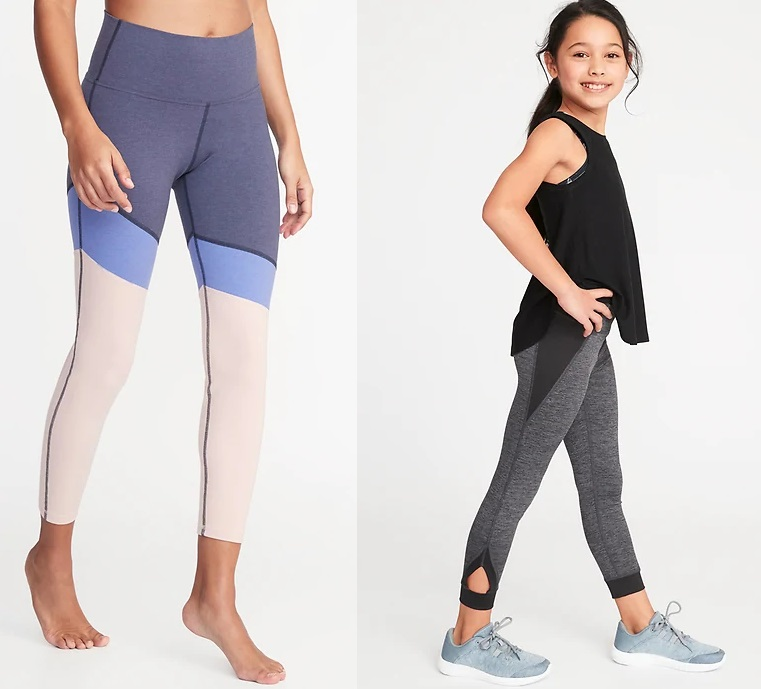 Old Navy: $10 Women's and Girls' Active Leggings! – Wear It For Less