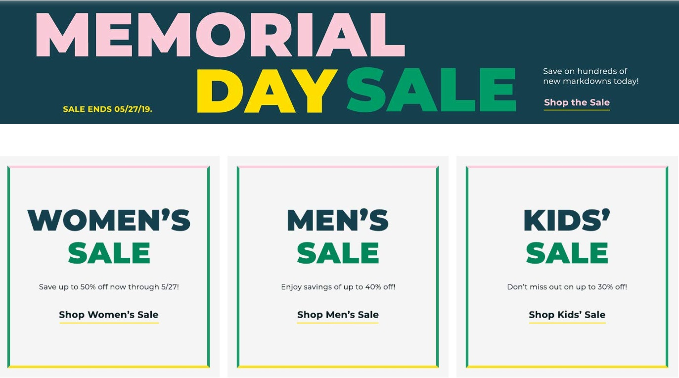 436b698e72d7a Zappos: Memorial Day Sale + Free Shipping! – Wear It For Less