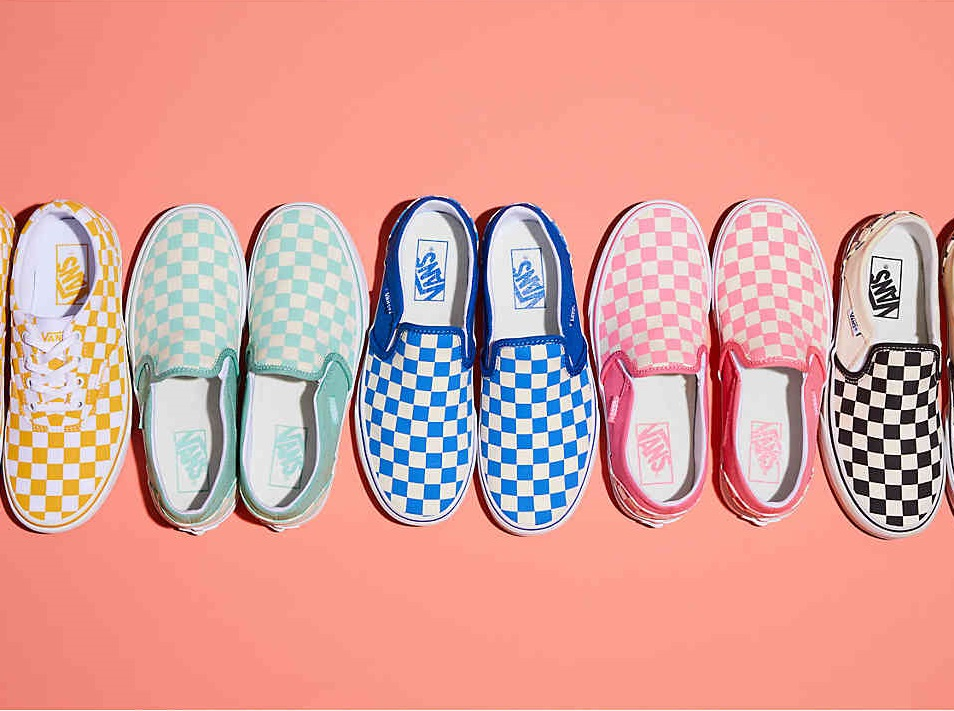 Pairs of Adult VANS + Overnight Bag