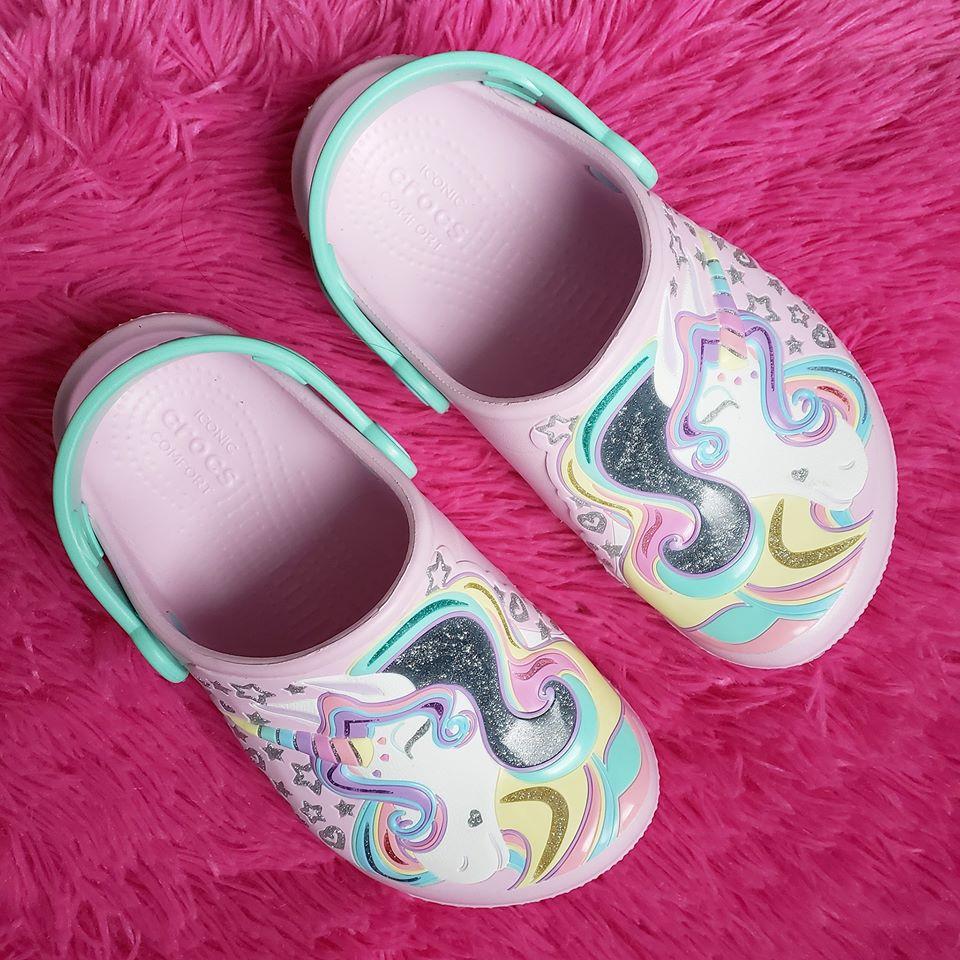 DSW: Kids' Unicorn Crocs – only $22