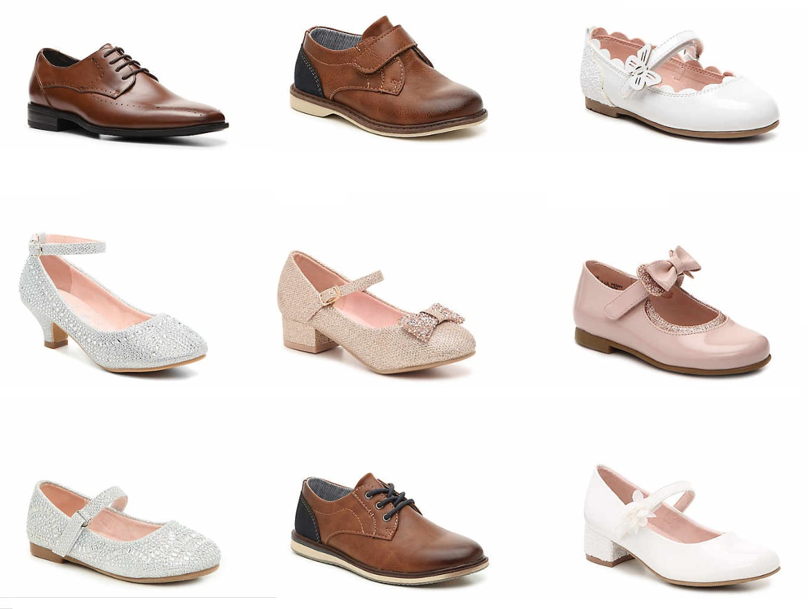 DSW: Kids' Dress Shoes only $10-$12.50