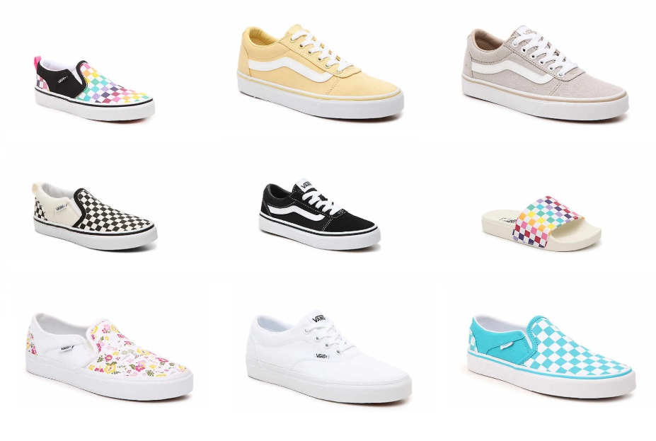 DSW: Save 40% Off VANS + Free Shipping