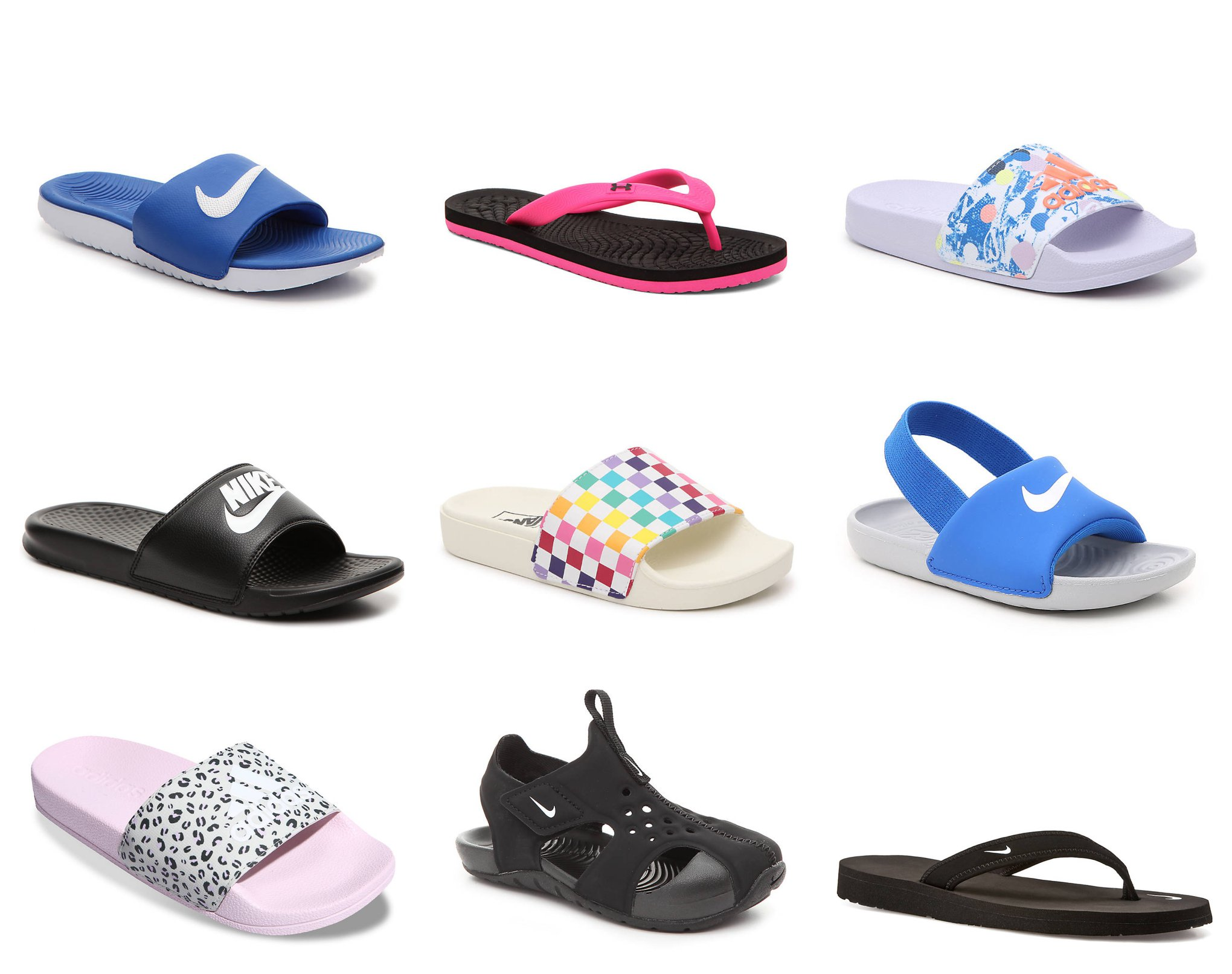 Off Athletic Sandals + Free Shipping