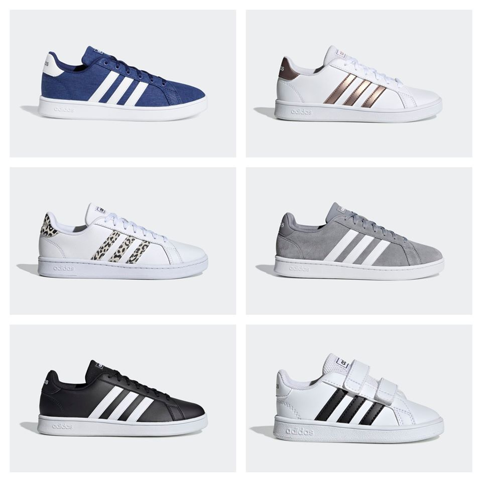Adidas: Kids' Grand Court Sneakers only
