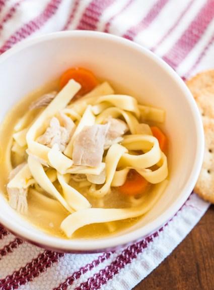 Chicken Noodle Soup | Liam Eats