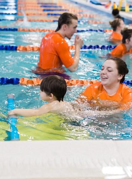 Kids Swimming Lessons in Columbus | Goldfish Swim School