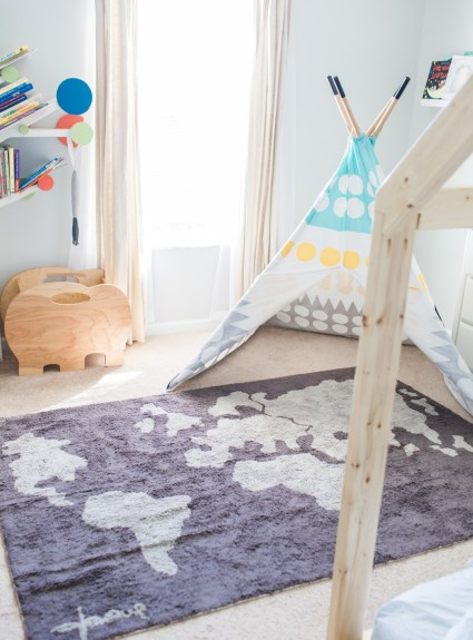 Lorena Canals Rugs | Kid Room Style