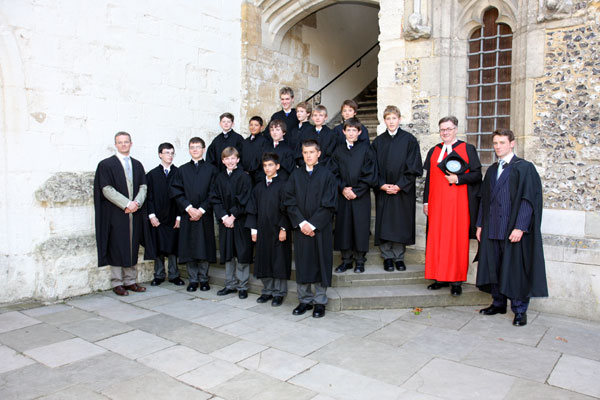 Winchester College Admission of Scholars September 2008