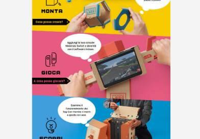 In giro per l'Italia, la creatività prende la forma dei Nintendo Labo
